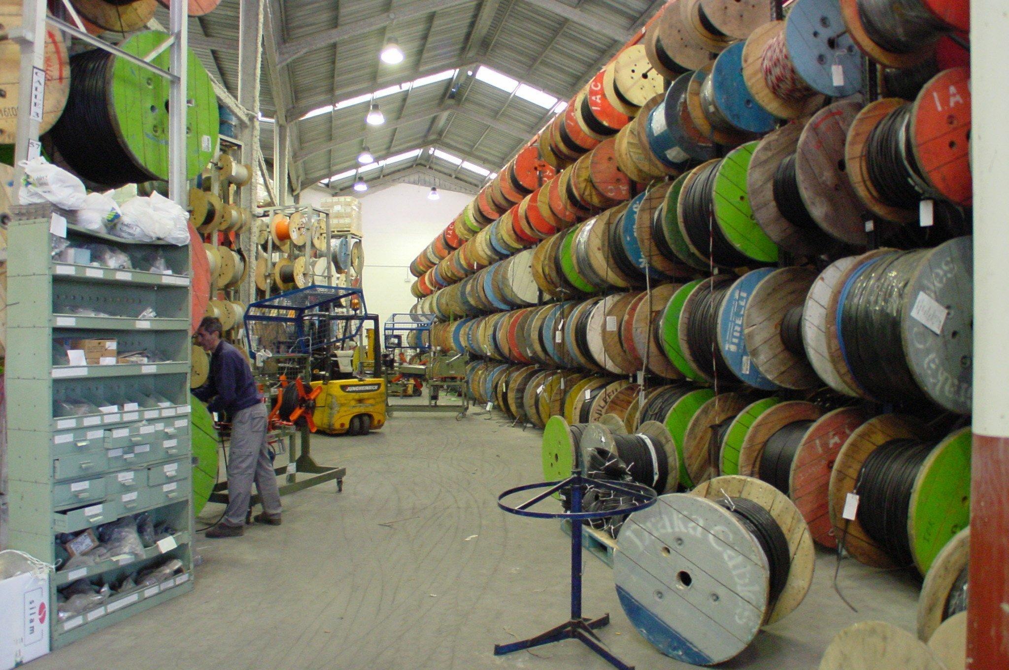 Ofertas cables electricos - IBK Cables, nuestras instalaciones.